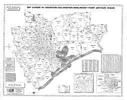 Rockford Zip Code Map by Houston Galveston Beaumont Port Arthur Tx Laminated Zip Code Wall