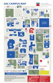 Sac State Campus Map by Locations And Maps San Antonio College Acalog Acms