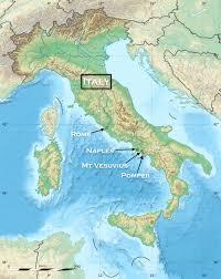 Pompeii Map Tour Pompeii