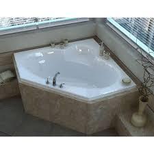 bathroom cozy corner whirlpool bath with shower 148 alluring