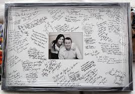 wedding signing frame other frankc