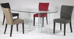glass dining room tables and chairs oval glass dining room table at best home design 2018 tips