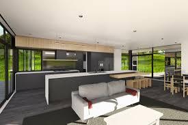 modern home designs modern architecture esk view napier mackit architecture