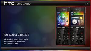themes nokia c2 mobile htc sense widget theme x2 00 asha 301 240x320 s406th asha 206