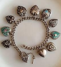 vintage heart bracelet images 406 best charm bracelets images bracelet charms jpg