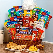 snack basket sweet snack gift basket 1 800 flowers 4 gift seattle