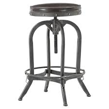 bar stools that swivel mercury row alkaios adjustable height swivel bar stool reviews