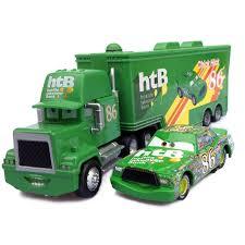 disney pixar cars no 86 mack truck small car hicks metal