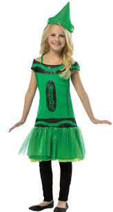 crayon costume girl s green crayon costume kids costumes