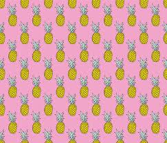 summer pineapple pink tropical summer fruit trend fabric