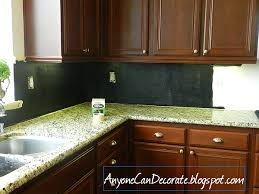 paint kitchen backsplash anyone can decorate my 10 kitchen back splash chalkboard