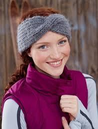 knit headbands twisted headband allfreeknitting