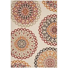 Patio Outdoor Rugs by Decorating Beautiful Floral Outdoor Rugs Walmart For Exciting