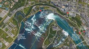 Niagara Falls Canada Map by Celebrate The Canada Day And The U S Independence Day Long
