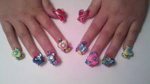 6d nails beautify themselves with sweet nails