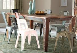 Keller Dining Room Furniture Coaster Keller Rectangular Dining Table Multi Color 180161 At