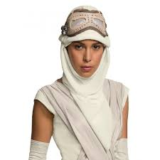 rey star wars the force awakens eye mask and hood star wars cosplay