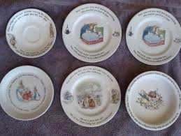 beatrix potter tea set vintage wedgwood beatrix potter rabbit children s tea set