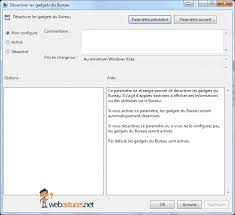gadgets du bureau comment activer ou désactiver les gadgets windows tech2tech