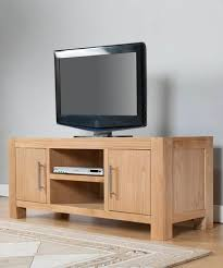 2 Door Tv Cabinet Oak 2 Door Tv Stand With Shelf Oak Furniture Solutions