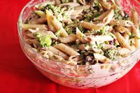 holiday potluck pasta salad recipe the healthy mouse