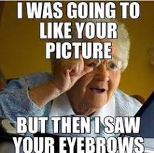 Eyebrows Meme - these eyebrow memes will help you avoid bad eyebrows 10 photos