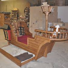 Pirate Bedroom Furniture Pirate Ship Playhouse Pearl Pirate Ship Bed With Trundle By