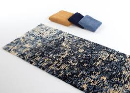 Modern Bath Rug Abyss Habidecor Imagine Blue Gold Modern Bath Rugs Http Www