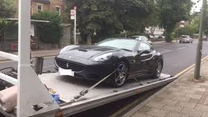 Ferrari California Gray - police bust son trying to pull a ferris bueller with his dad u0027s