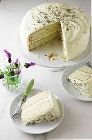 lavender cake with lavender cream cheese icing savor the best