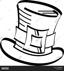 st patrick u0027s day top hat clip art vector u0026 photo bigstock