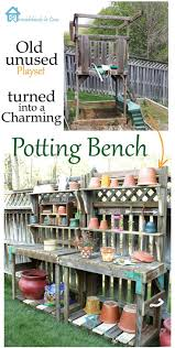 Inexpensive Potting Bench by 311 Best Potting Benches Images On Pinterest Greenhouse Shelves