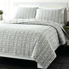 Gray Chevron Bedding Berkey Grey Charcoal Textured Quilt Cover Set Queen King Eurocases