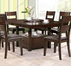 Espresso Dining Room Set Charming Dining Table 8 Chairs Set 9pc Cappuccino Wood Counter