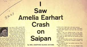 san mateo times amelia earhart the truth at last