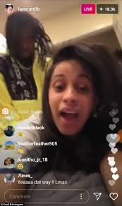 how to get my hair like offset cardi b and offset pretend to have sex on instagram live daily