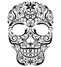 day of the dead tattoos drawing images