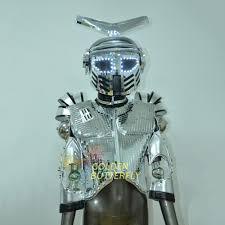 halloween light show aliexpress com buy led robot costume luminous suit led dance men