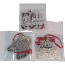 tony the tiger pewter christmas ornaments from kellogg u0027s