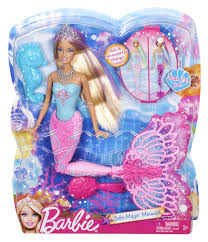 amazon barbie color magic mermaid doll toys u0026 games