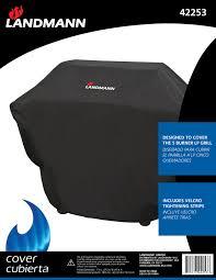 Landmann Grandezza Outdoor Fireplace by Covers Landmann Usa Grills Smokers U0026 Fire Pits Manufacturer