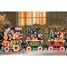 Christmas Train Decoration Outdoors by 50 Best Outdoor Christmas Gold Images On Pinterest Outdoor