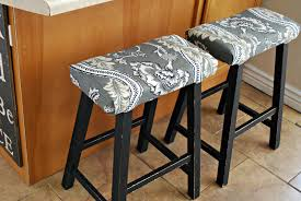 Pottery Barn Kitchen Furniture Furniture Upholstered Pottery Barn Stools With Black Wood Legs
