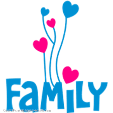 family with lovely cool display pictures