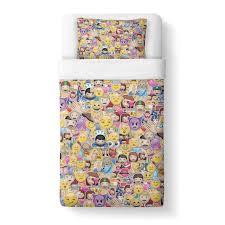 How To Make Duvet Covers Emoji Invasion Duvet Cover Shelfies