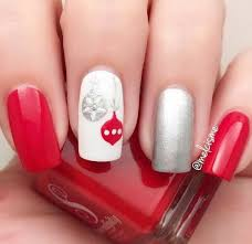 65 festive nail art ideas for christmas listing more
