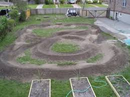 Backyard Bmx Dirt Jumps Backyard Pumptrack Yard And Garden Pinterest Backyard Bmx