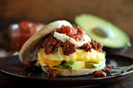 chorizo and egg breakfast sandwich country cleaver