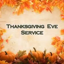 thanksgiving service st lutheran church