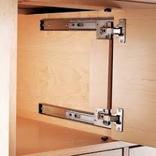 Overhead Cabinet Door Hinges Thick Inset Pocket Flipper Door Hinge Kit Woodworking